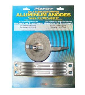 kit anodes yamaha 150 / 200 cv