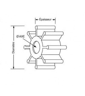 turbine T8 / 9.9 / F15