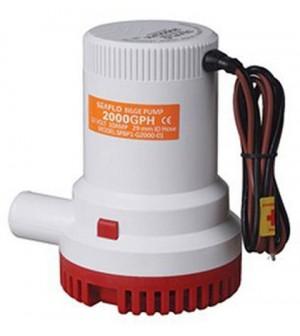 pompe de cale 12V - 7600 L/H - diam 29