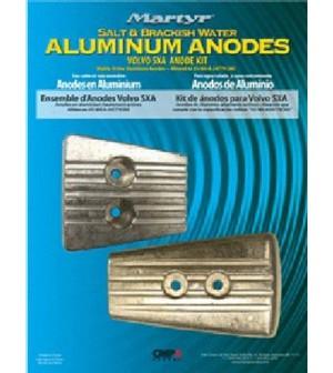kit anodes aluminium SXA