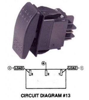 Interrupteur on-off-on