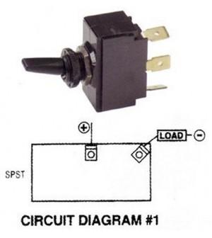 Interrupteur à levier on-off