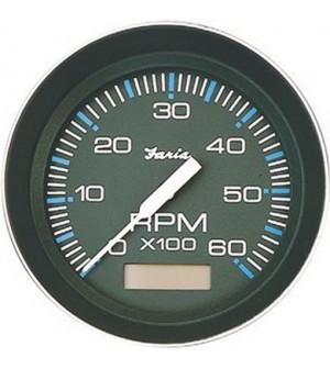 compte tours et heures noir pour diesel 4000 tr/mn