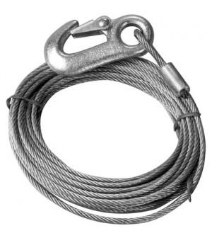 câble pour treuil de remorque 5mmx6m