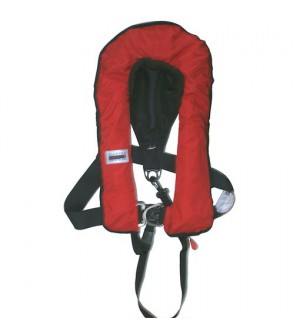 gilet gonflable 300N rouge
