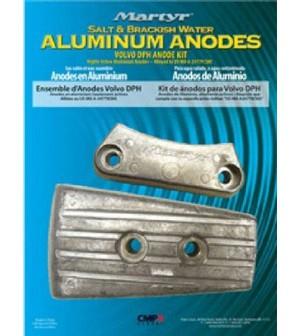 kit anode aluminium pour volvo DPH