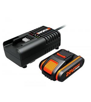 kit chargeur 20 volts + une batterie 20V/2Ah