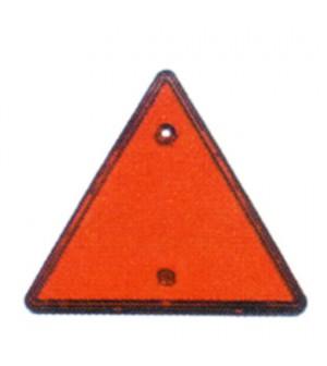 réflecteur triange rouge pour remorque