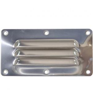 grille de ventilation 127x65x0.8mm