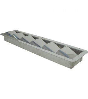 grille de ventilation 325x76x27mm