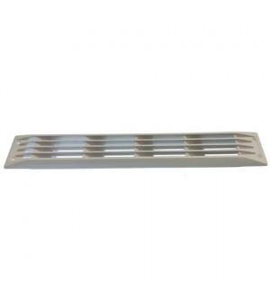 grille de ventilation blanche 446x70mm