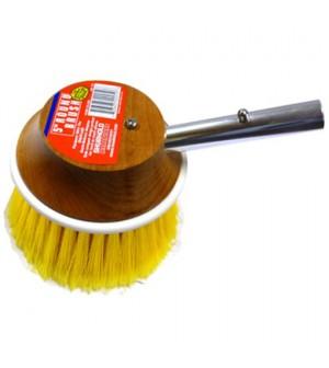 brosse shurhold ronde diam130mm pour brossage doux à la verticale