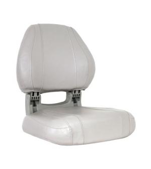 siège SIROCCO pliable blanc et gris