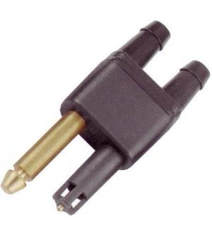 raccord double essence pour mercury mariner - diam 8mm usa