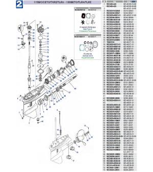 115B/C/CETO/TXRZ/TLRA-130BETO/TLRA/TLRZ