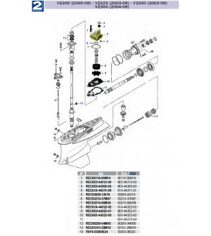VZ200(2005-09)-VZ225(2003-09)-VZ250(2003-09)-VZ300(2004-09)