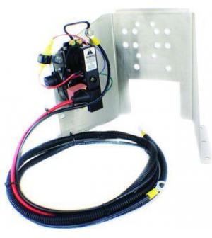 support moteur de trim inox, relais et cablage pour mercruiser