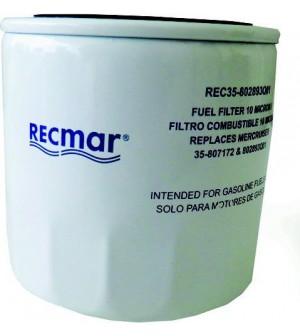 filtre à carburant séparateur d'eau pour mercrusier v6/v8